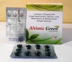 Lycopene, Ginseng with Grape Seed Extract, Calcium, Iron, Multivitamin And Multiminerals Capsules