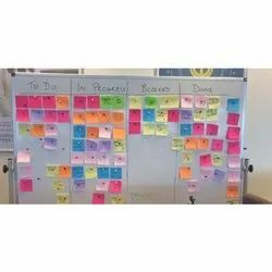 Factory Display Kanban Post Board