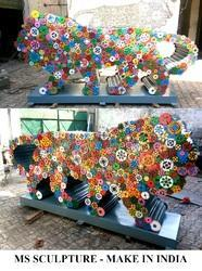 Make In India Sculpture