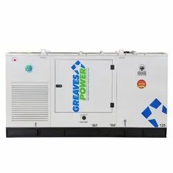 Greaves Power 125 KVA Silent Diesel Generators