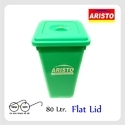 Aristo Storage Bucket 80 Ltr Flat Lid