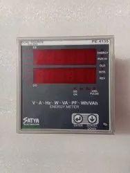 5 A Three Satya Make Energy Meter, Model Name/Number: PE3130, 220V