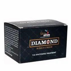 Skin Alive Herbal Diamond Bleach Cream, For Parlour, Packaging Size: 30 Gram