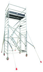 Stair Aluminum Double Width Mobile Scaffolding