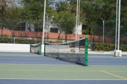 Tennis poles