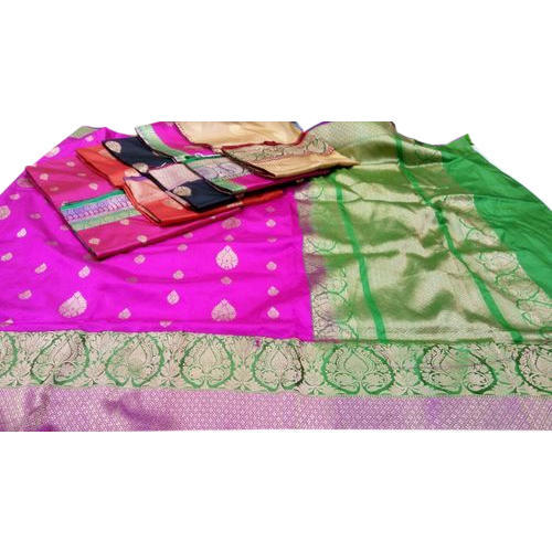 Party Wear, Festive Wear Katan Silk Saree