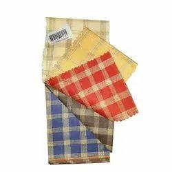 Handloom Garments Check Fabrics, GSM: 150-200