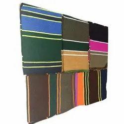 Vijay Luxmi Textile Garbage Wool Designer Dollar Durries, Size: 6x9 feet