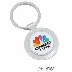 CNBCTV18 Metal Key Chain