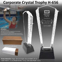 Corporate Crystal Trophy