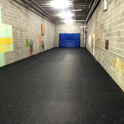 EPDM Rubber Flooring Services, Thickness: 10 - 25 mm