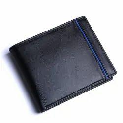 Leather Bi Fold Men Blister Hide Wallet
