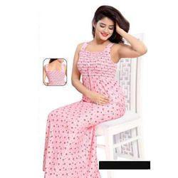 Indian Pakistani Nightwear Cotton Stitched Nightdress Night Gown Dress Nightie