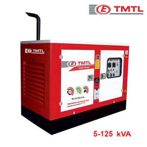 Three Phase TMTL 62 5 KVA Water Cooled Diesel Generator Set, RPM
