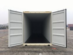 40'HC Double Door New Shipping Containers