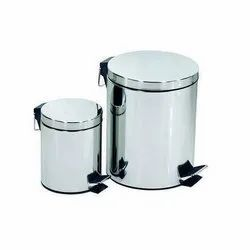 Stainless Steel Foot Pedal  Bin