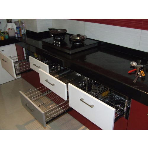 Modern Kitchen Trolley At Rs 25000 /set