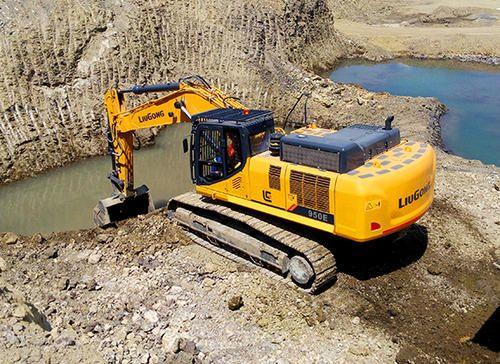LiuGong CLG950EIIIA Large Crawler Excavator, 375 HP, 46500 Kg, 3 2 cum
