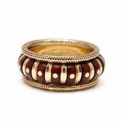 Antique Brass Bangle