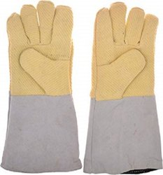 Half Kevlar Leather Gloves