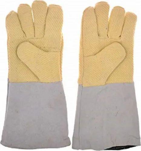 Half Kevlar Leather Gloves