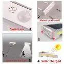 72 LED Solar Sensor Light