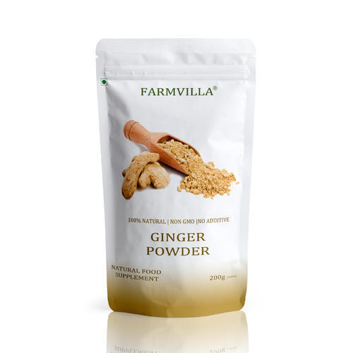 Farmvilla Ginger Powder, Packaging Size: 200 & 500 gm