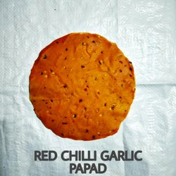 Red Chilli Garlic Papad