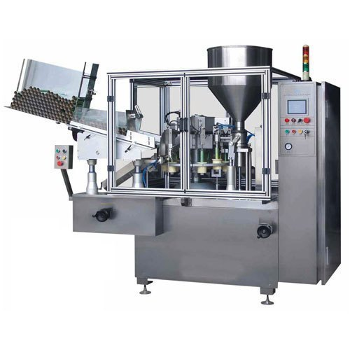 Automatic Tube Filling & Sealing Machine, Capacity: 3000 Tubes /Hour, 4.2  kW, Rs 770000 /unit | ID: 21487197691