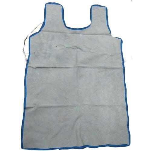 White Leather Apron For Welding