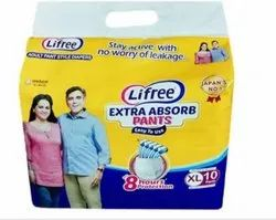 Lifree Adult Pant Style Diapers Extra Large