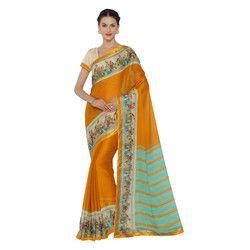 Gorgeous Chiffon Printed Saree
