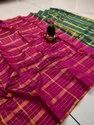 Women's Uppada Checks Saree