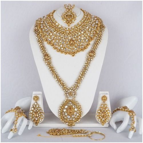 Bollywood indian bridal necklace set at rs 4000 set wedding bollywood indian bridal necklace set junglespirit Images