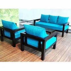 Sky Blue Sofa Set