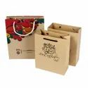 Brown Paper Bags, For Shopping, Capacity: 1kg