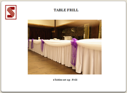 Table Frill