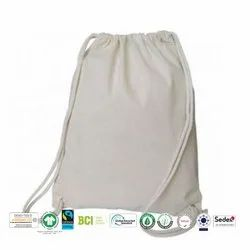 Eco Cotton Drawstring Bag Manufacturer