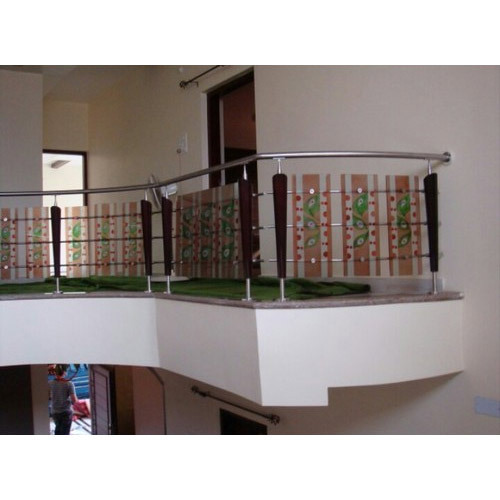 Bar Ss Modern Glass Railing Rs 750 Running Feet Saifee Steel Id