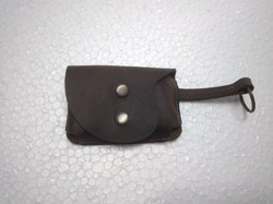 Vintage Leather Coin Case
