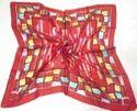 100 % Silk Tabby Printed Bandana