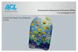 Colorful Fish Design Swim Kickboard