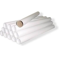 Paper Tube Cores 12 Inches White
