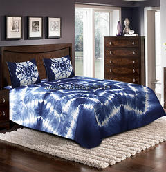 Tie Dye Bed Cover Shibori Bed Sheet