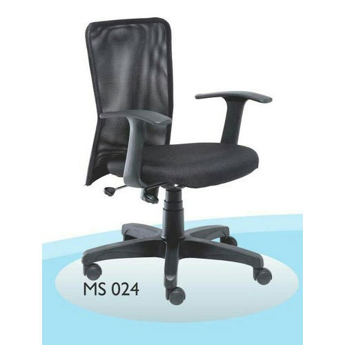 Black High Back Revolving Office Chair