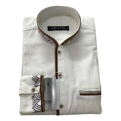 Mens Regular Fit Casual Shirt, Size: Medium Also Available In Small,Large,XL