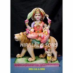Marble Ambika Devi Statue
