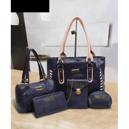d6ab1a709e Jimmy Choo Blue Ladies Combo Bags, Rs 800 /set, Sana Enterprises ...