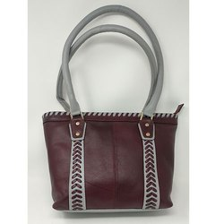 Zipper Designer Hand Bag