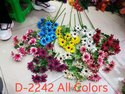 D2242 Artificial Daisy For Decoration, Packaging Type: Carton